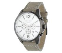 Armbanduhr 'Tallac' mit schlichtem Design greige