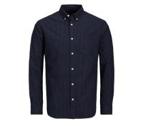 Hemd Oxford blau