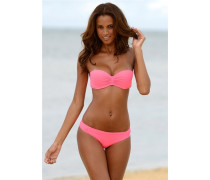 Bandeau-Bikini neonpink