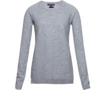 Pullover »Gianna Texture Round-Nk Swtr« grau