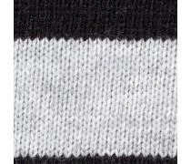 Strickpullover grau / schwarz