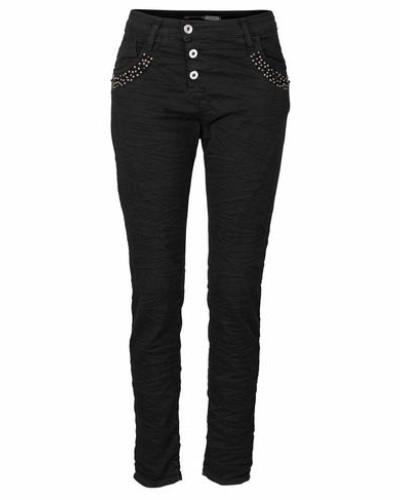 Jeans Boyfriend-Jeans »P94S« schwarz