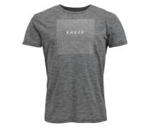 Shirt 'Tribe' graumeliert