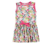 Kleid mit Schleife mischfarben