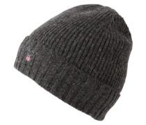 Mütze mit Fleece-Futter grau