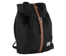 Rucksack mit Laptopfach 'Post' schwarz