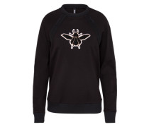Sweatshirt 'Winnie' schwarz