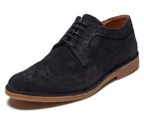 Schuhe Wildleder blau