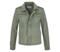 Military-Jacke grün