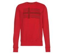 Sweatshirt mit Logo-Applikation 'Bejucal' koralle