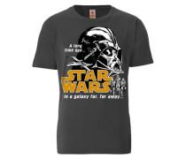 "T-Shirt ""Darth Vader"" grau"