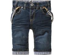 Baby Jeans mit Hosenträger für Jungen Oktoberfest