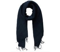 Weicher Web-Schal blau