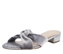 Pantoletten 'Francesca' silber