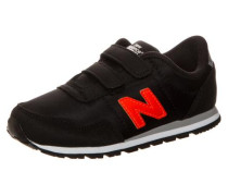 Kv396-Doi-M Sneaker Kleinkinder schwarz