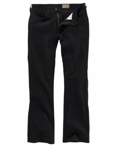 Bootcut-Jeans 'Jacksville' schwarz