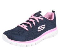 Sneaker 'Graceful Get Connected' navy / rosa