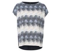 Shirt 'Kiduh' blau / mischfarben