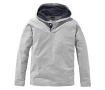 Langarmshirt für Jungen grau