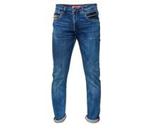 Jeans im klassischen 5-Pocket-Style