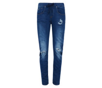 G-Star Boyfriend-Jeans 'Arc 3D Sport Low Boyfriend Wmn' blue denim