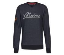 Sweatshirt 'Sly Moin' indigo