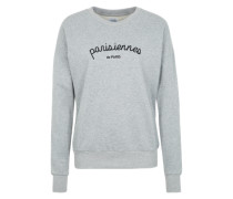 Sweater 'Parisiennes' grau
