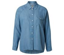 Weiches Hemd blau