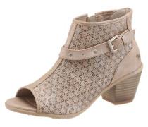 Sandalette hellbeige / taupe