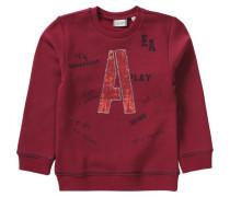Sweatshirt für Jungen marine / weinrot