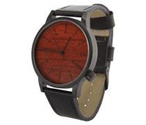 Armbanduhr 'Winston' braun / schwarz