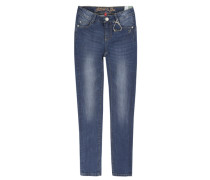 Jeggings Jeans Slim blau