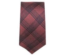 Krawatte ' Brown Label ' rot / schwarz