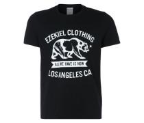 T-Shirt 'Walkabout' schwarz