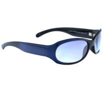 Sonnenbrille blau / schwarz