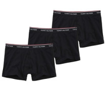 Boxershorts 3er Pack schwarz