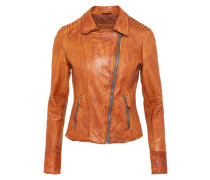 Lederjacke 'Really Hot' cognac