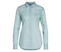 Bluse mit Muster mischfarben