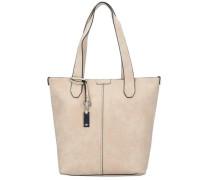 'Sally Shopper' Tasche 38 cm beige