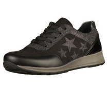 Sneaker graphit / schwarz