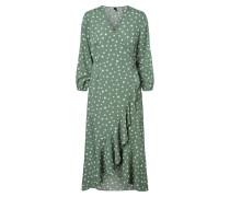 Kleid 'vmhenna' grünmeliert