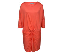 Drapiertes Jersey-Dress 'Loretta' rot / orange