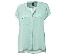 Oversized-Bluse blau