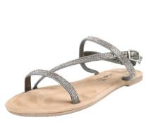Sandalette mit Ziersteinchen