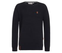 Male Knit Sweater Zapzarap Zip Zap II blau
