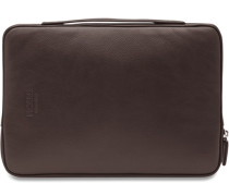Busy Laptoptasche Leder 29 cm braun