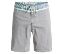 Shorts »Street Trunk Yoke Cracked« grau