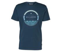 T-Shirt 'rounder Tee' dunkelblau