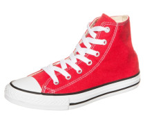 Chuck Taylor All Star High Sneaker Kinder rot
