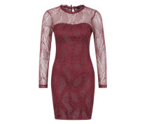 Abendkleid 'Gentle' bordeaux / silber